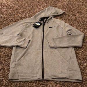NWT- Nike dri-fit zip up hoodie -men's